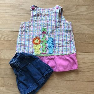 Girls dress and shirts. 2 for 1.